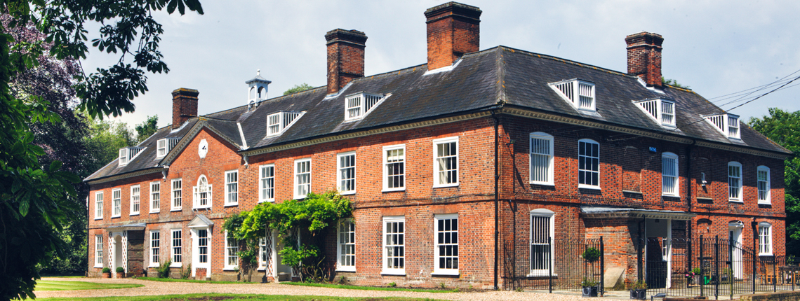 Aspall Hall estate located in the town of Debehham of Suffolk County, England.