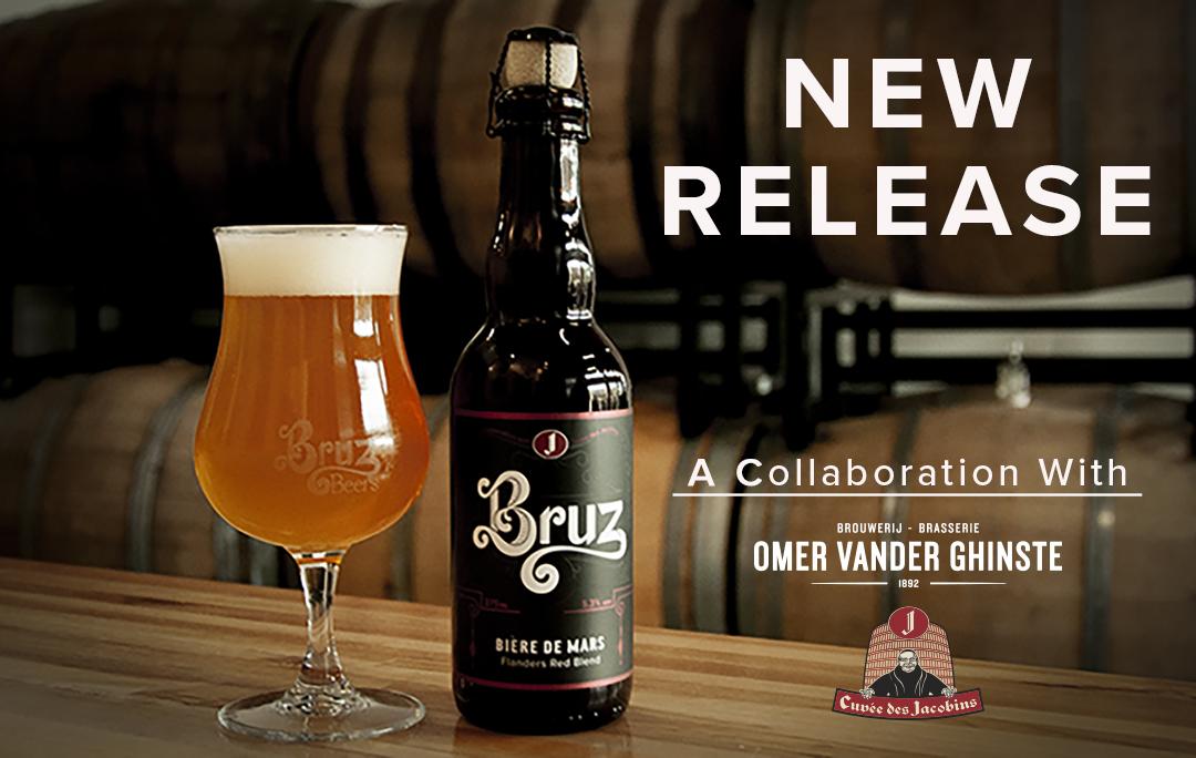 Bruz Beers and Omer Vander Ghinste Bière de Mars Collaboration