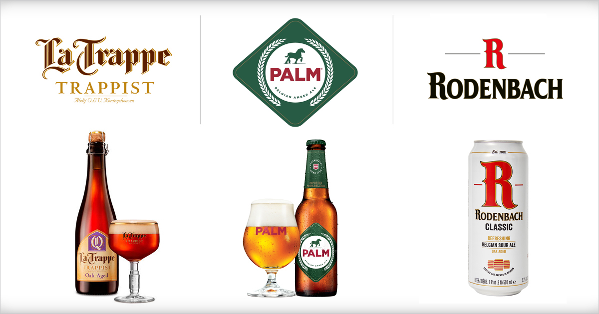 Artisanal Imports has partnered with SFB Imports to sell its acclaimed imported brands La Trappe, Palm and Rodenbach nationwide.