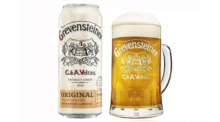 Brauerei C. & A. Veltins Debuts Grevensteiner Cans In The U.S.