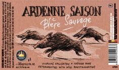 """Bastogne Ardenne Saison """"Biére Sauvage"""""""