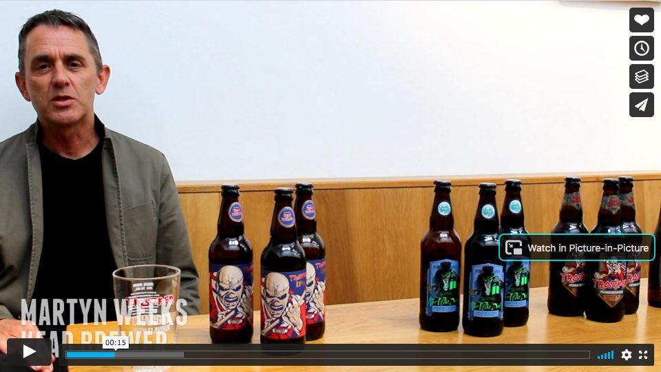 Robinsons Brewery Head Brewer Martyn Wee