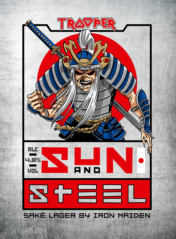 Iron Maiden Marches Into U.S. With First Lager, TROOPER Sun and Steel