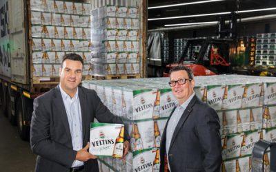 Veltins Udo Bruns Export Manager With Fabian Mueller Area Sales Manager