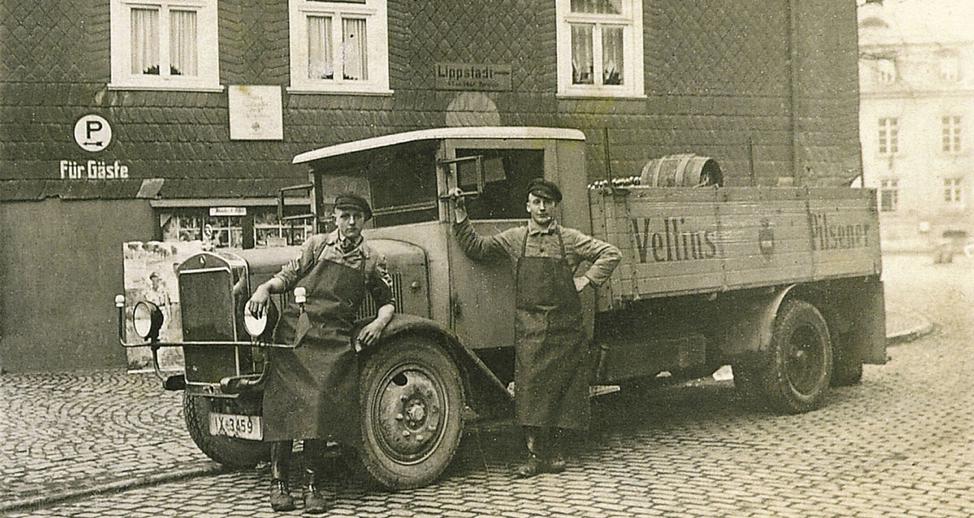 Veltins automobile fleet